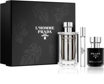 Prada L Homme подарунковий набір ... f9bb5e387ef12