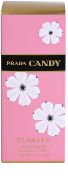 Prada Candy Florale Eau de Toilette para mulheres 80 ml
