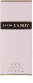 Prada Candy L'Eau toaletní voda pro ženy 80 ml