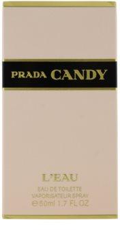 Prada Candy l'Eau toaletní voda pro ženy 50 ml