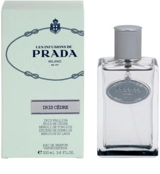 Prada Les Infusions Infusion Iris Cedre eau de parfum mixte 100 ml