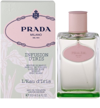Prada Les Infusions Infusion d'Iris L'Eau d'Iris Eau de Toilette for Women 100 ml Limited Edition