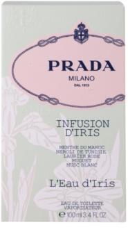 Prada Les Infusions Infusion d'Iris L'Eau d'Iris eau de toilette pentru femei 100 ml editie limitata