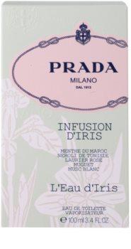 Prada Milano Infusion D'Iris  L'Eau D'Iris eau de toilette pour femme 100 ml