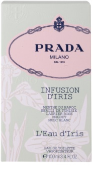 Prada Milano Infusion D'Iris  L'Eau D'Iris toaletní voda pro ženy 100 ml