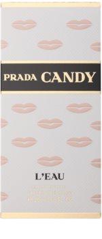 Prada Candy L'Eau Kiss eau de toilette pentru femei 20 ml  Kiss Collection