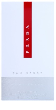 Prada Luna Rossa Eau Sport eau de toilette per uomo 125 ml