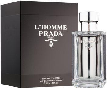 Prada L'Homme Eau de Toilette for Men 50 ml