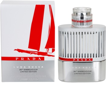 Prada Luna Rossa 34th America s Cup Limited Edition eau de toilette para  homens 100 ml edição cb1ea368db