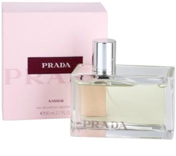 Prada Amber Eau de Parfum para mulheres 80 ml
