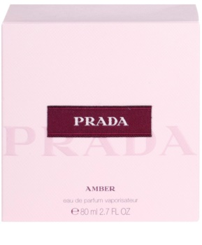 Prada Prada Amber Eau de Parfum Damen 80 ml