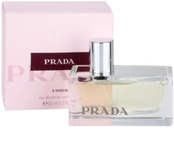 Prada Prada Amber eau de parfum pentru femei 50 ml