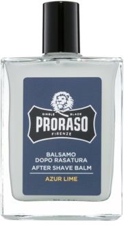 Proraso Azur Lime bálsamo after shave hidratante  textura nutritiva