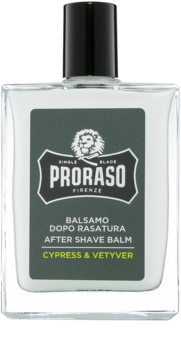 Proraso Cypress & Vetyver baume après-rasage hydratant texture nourrissante