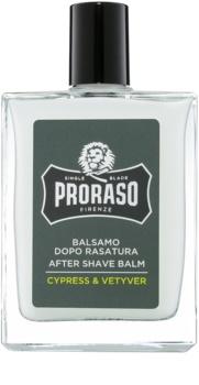 Proraso Cypress & Vetyver hydratační balzám po holení výživná textura