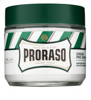 Proraso Green crema antes del afeitado