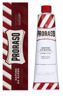 Proraso Red mydło do golenia twardej głowy w tubce
