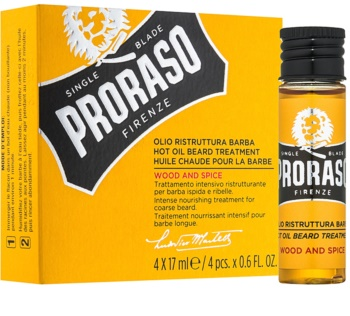 Proraso Wood and Spice Hot olje za brado