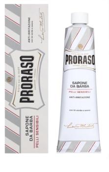 Proraso White Shaving Soap for Sensitive Skin In Tube