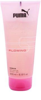Puma Flowing Woman gel douche pour femme 200 ml