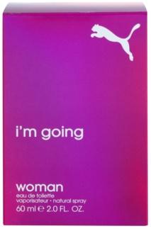 Puma I Am Going Woman toaletní voda pro ženy 60 ml