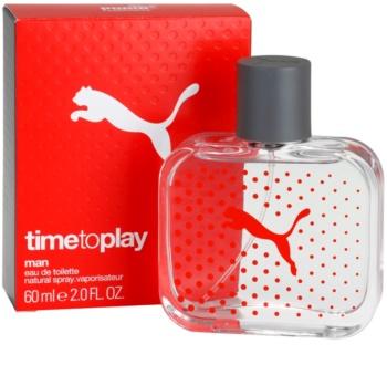 Puma Time To Play eau de toilette pour homme 60 ml