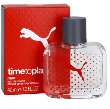 Puma Time To Play eau de toilette pour homme 40 ml
