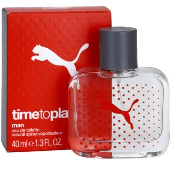 Puma Time To Play toaletní voda pro muže 40 ml