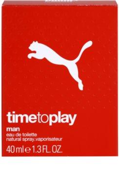 Puma Time To Play Eau de Toilette para homens 40 ml
