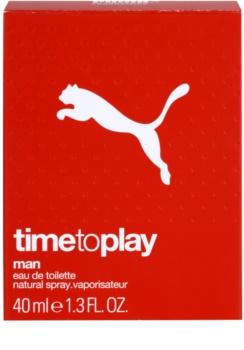 Puma Time To Play Eau de Toillete για άνδρες 40 μλ
