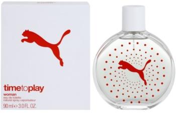 Puma Time To Play eau de toilette pentru femei 90 ml
