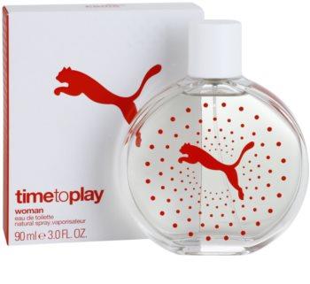 Puma Time To Play Eau de Toilette for Women 90 ml