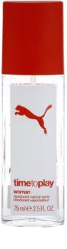 Puma Time To Play desodorizante vaporizador para mulheres 75 ml
