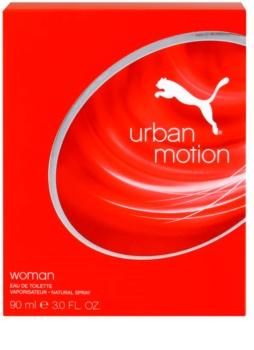 Puma Urban Motion Woman Eau de Toilette Damen 90 ml