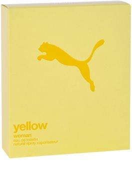 Puma Yellow Woman eau de toilette pour femme 90 ml