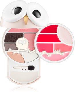 Pupa All You Need Is Owl Pupa Owl 3 мультифункціональна палетка