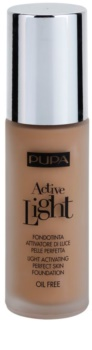 Pupa Active ľahký make-up SPF 10
