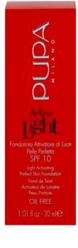 Pupa Active fond de teint léger SPF 10