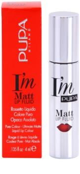 Pupa I'm Matt folyékony rúzs