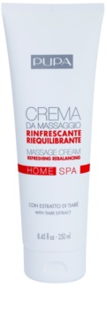 Pupa Home SPA Refreshing crema para masaje