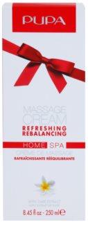Pupa Home SPA Refreshing crema pentru masaj