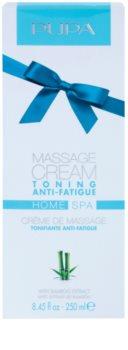 Pupa Home SPA Tonin Anti-Fatigue masszázs krém fáradtság ellen