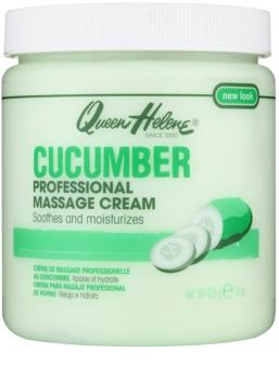Queen Helene Cucumber masážny krém na tvár a telo
