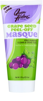 Queen Helene Grape Seed mascarilla peel-off para pieles normales y mixtas