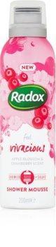 Radox Feel Vivacious negovalna pena za prhanje