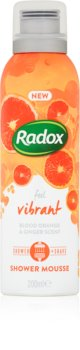 Radox Feel Vibrant negovalna pena za prhanje
