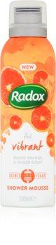 Radox Feel Vibrant ošetrujúca sprchová pena