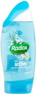 Radox Feel Refreshed Feel Active gel za prhanje