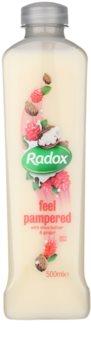 Radox Feel Luxurious Feel Pampered пінка для ванни