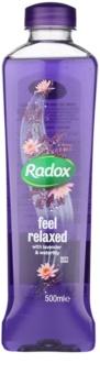 Radox Feel Restored Feel Relaxed espuma de baño